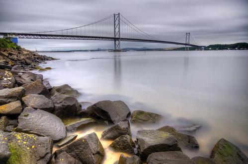 High Tide and the Road Bridge - Explored