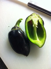 black bell pepper