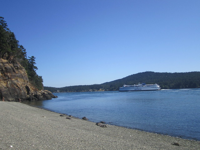 BC Ferry on its way