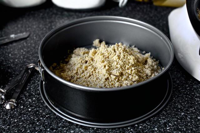 cinnamon hazelnut brown sugar crumbs