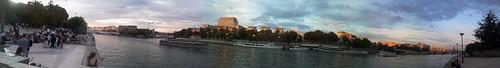 Sunset sur les quais by esquimo_2ooo