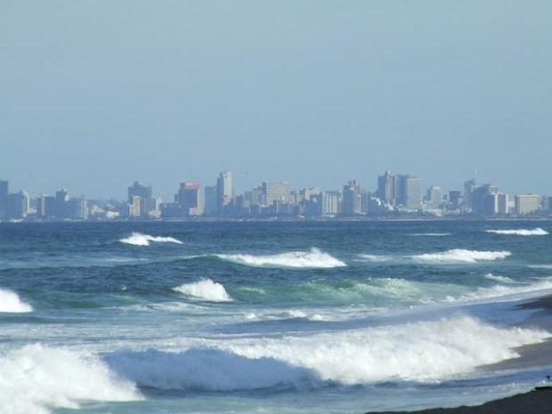 Durban Beachfront from Umhlanga