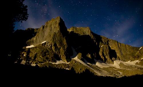 Warrior Peak in the moonlight! Wind River Range, Wyoming by i8seattle
