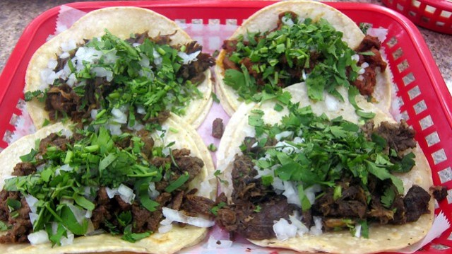 taco box at supermercado chicago