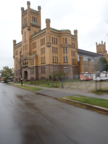 Cranston Street Armory, Providence, RI is part of my daily scoot commute