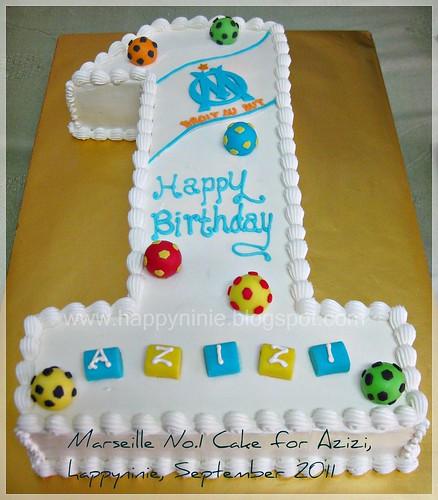 Marseille No 1 Cake for Azizi