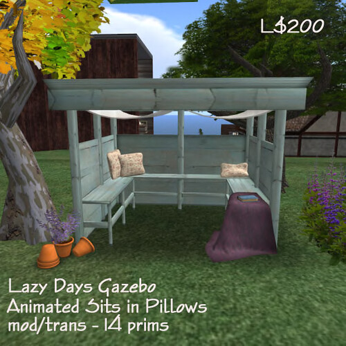 The South 40 ~ Lazy Days Gazebo