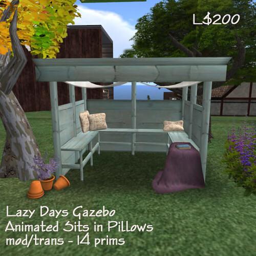 The South 40 ~ Lazy Days Gazebo
