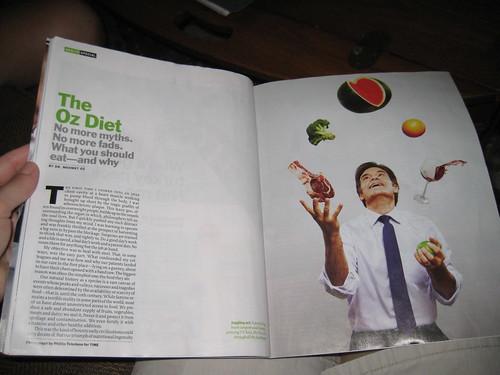 Dr. Oz article