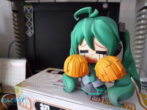 Nendoroid HMO with Support Miku's pompom