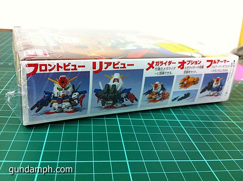 SD ZZ Gundam with Mega Rider (2)