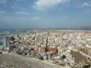 Vistas desde el castillo de Santa Bárbara de Alicante