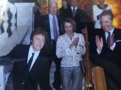 "sir paul with nancy pelosi • <a style=""font-size:0.8em;"" href=""http://www.flickr.com/photos/61425586@N06/6076201801/"" target=""_blank"">View on Flickr</a>"