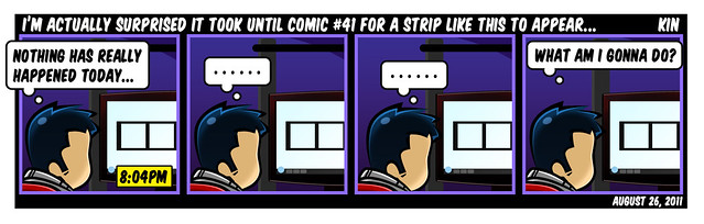 I'm Actually Surprised It Took Until Comic #41 For A Strip Like This To Appear...