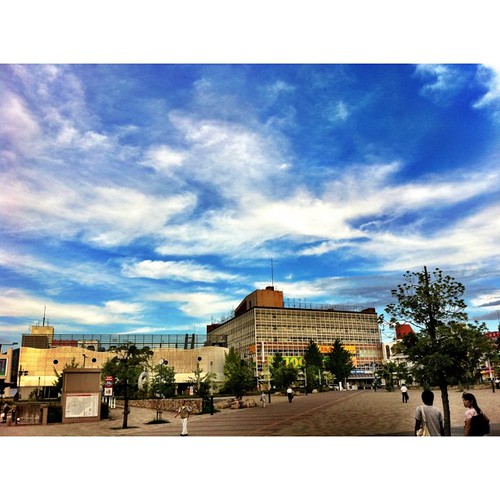 なんかドラマティックな空じゃない? #sky #iphotography #instagram