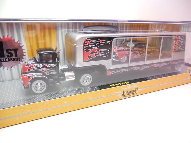 m2 auto trucks 1956 ford c-500 coe & 1949 mercury custom blk (2)