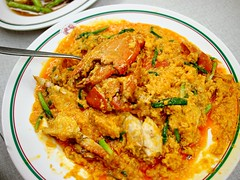 Famous Curry Crab, Somboon Seafood, Surawong