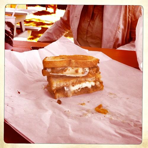 Chetzamelta Sandwich at the Sammy Shack