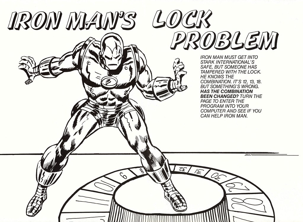 Iron Man's Lock Problem