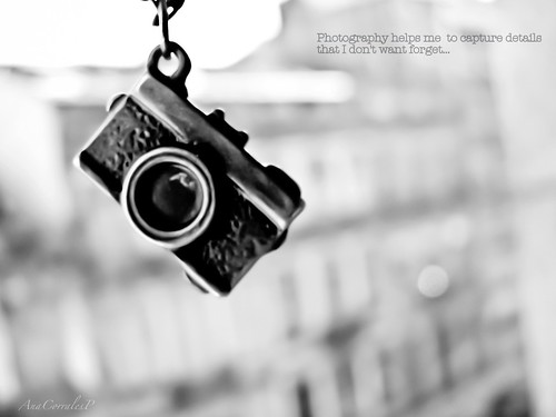 Photography helps me to capture details that I don't want  forget..