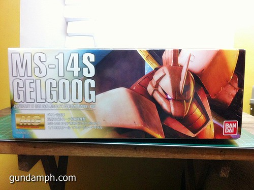 MG Char Aznable's Gelgoog (2)