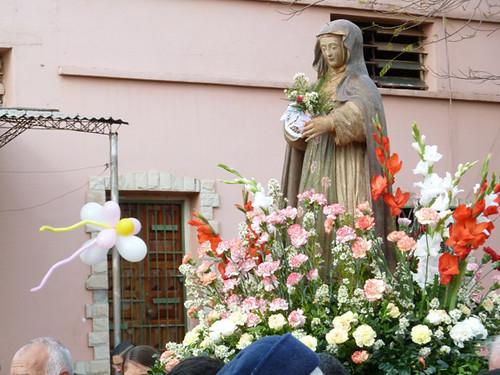 Santa Rosa statue