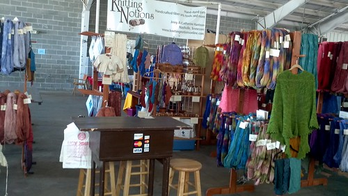 Knitting Notions booth WI S&W 2011