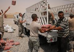 Humanitarian aid.