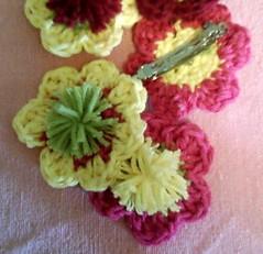 Crochet Barettes