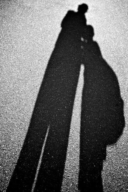 Shadow hugs