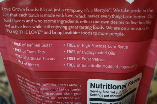 Love Grown Foods Granola
