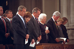 911: President George W. Bush at National Cath...