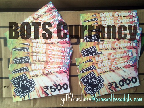 BOTS Gift vouchers