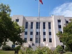 1940 Brazoria County Courthouse 1, Angleton, Texas