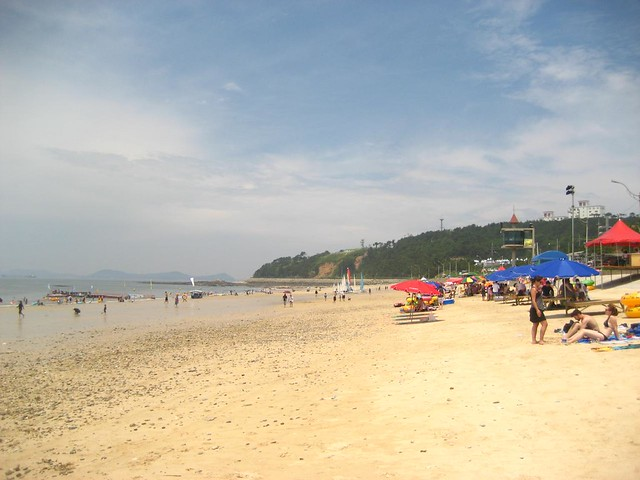 Boryeong beach