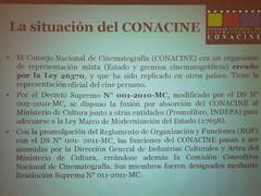 CONACINE - situación del Conacine