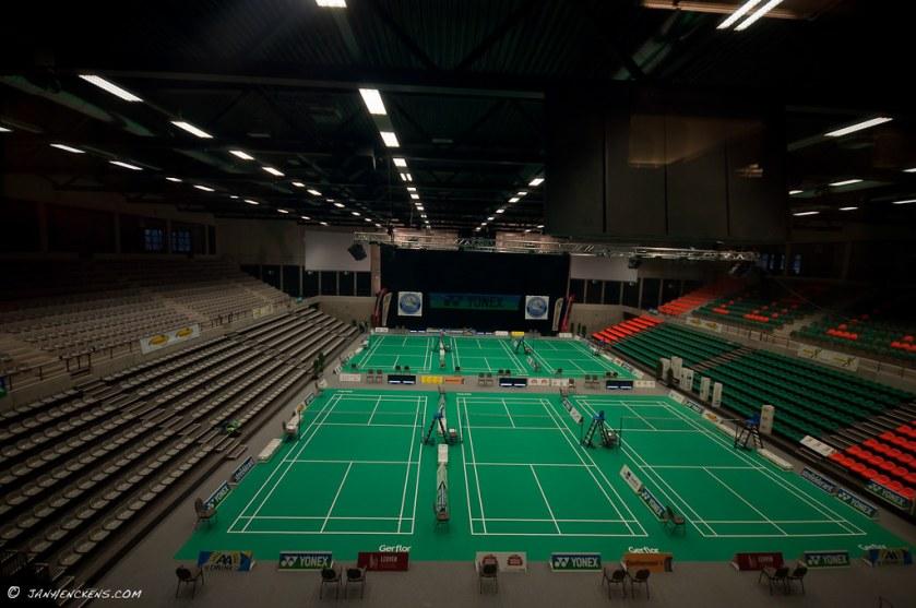 Sportoase Leuven (Before tournament on Wednesday evening)