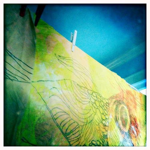 detail - art quilt