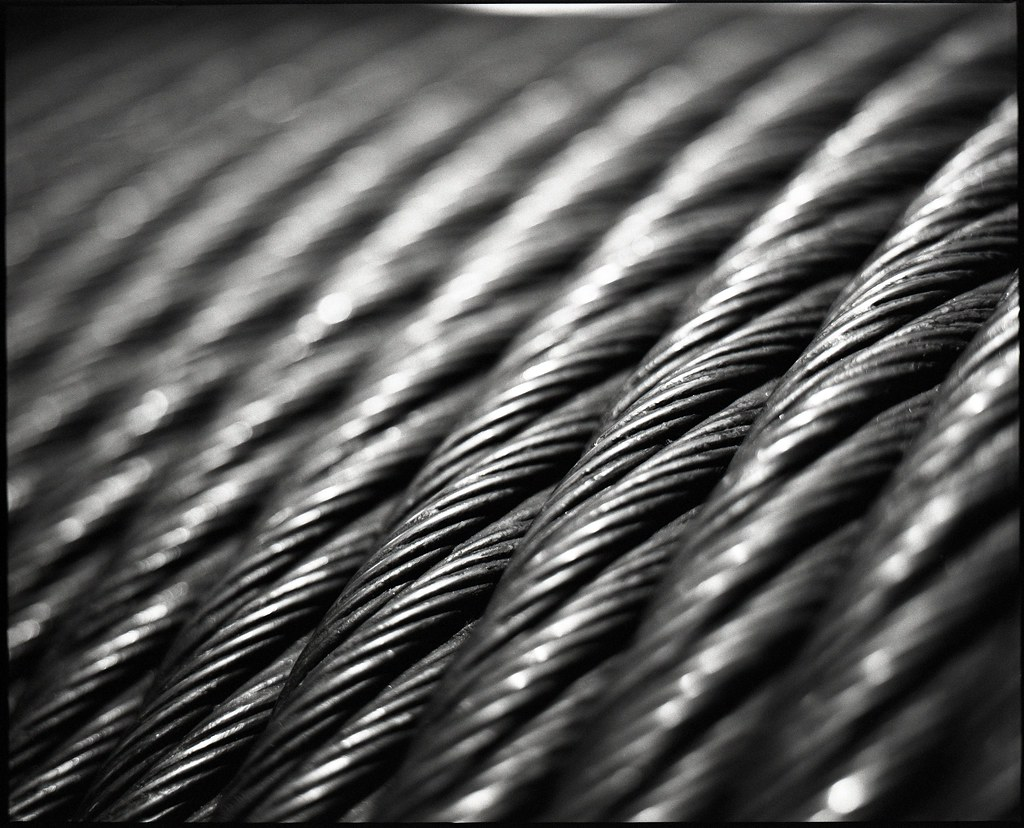 braided steel cable
