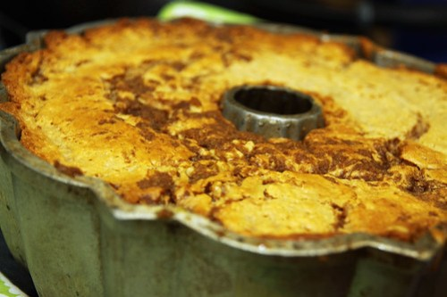 apple pie bundt cake