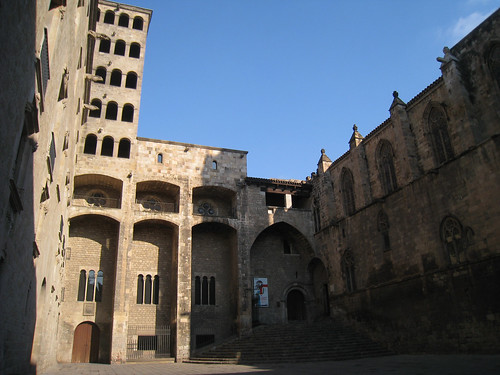 Barri Gotic Placa (Archivo Coronoa de Aragon)