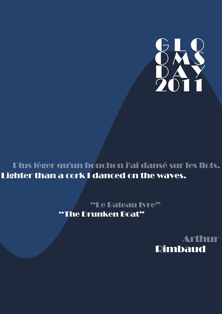 gloomsday 2011 #1: rimbaud