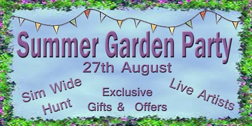 The Cookie Jar Presents ~ Summer Garden Party