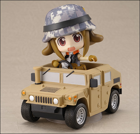 Nendoroid Army-san: Desert version