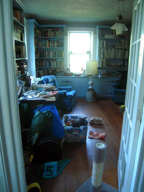library before clean up