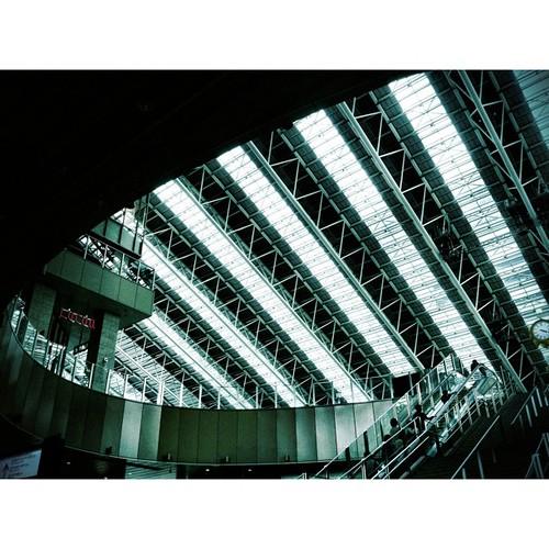 大阪ノースゲートビル 「時の広場」 #iphonography #instagram
