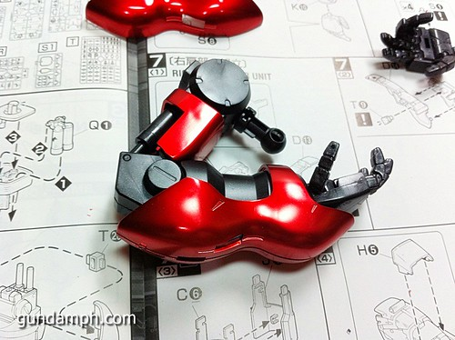 MG Sazabi Metallic Coating (Titanium-Like Finish) (31)