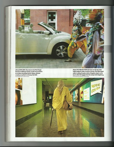 Living in Two Worlds - Femina Anniversary Issue 2011 by Vasu..