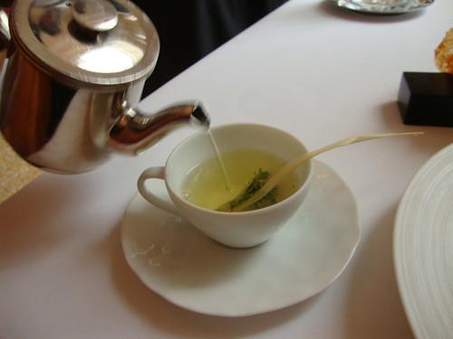 Amuse No. 1:  Tomato and Thyme Tea