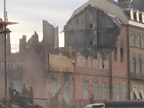 Redcar, Atonement Filming